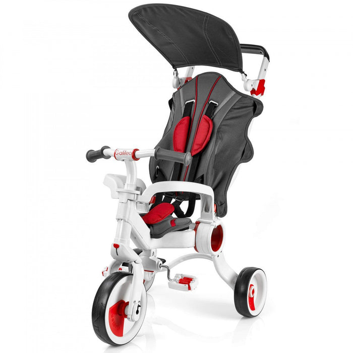 STROLLCYCLE - GALILEO 4-IN-1 STROLLCYCLE - RED