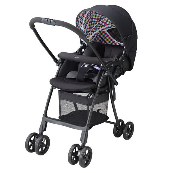 Stroller - Aprica KAROON PLUS HIGH SEAT BLACK