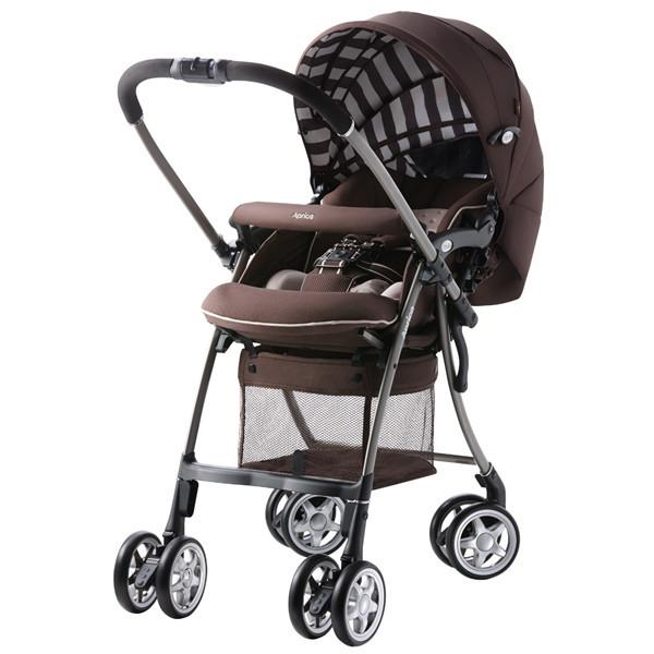Stroller - Aprica Luxuna BROWN