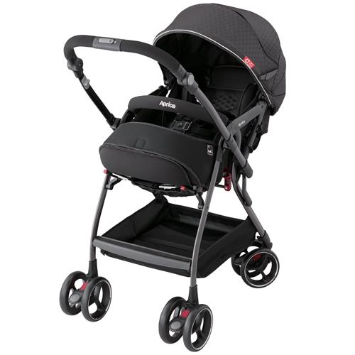 Stroller - Aprica Optia Premium Black