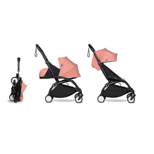 Stroller - BABYZEN YOYO2 Stroller - Ginger Bundle (Fabric Pack With Frame)