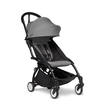 Stroller - BABYZEN YOYO2 Stroller - Grey Bundle (Fabric Pack With Frame)