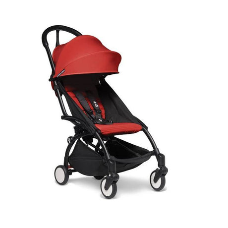 Stroller - BABYZEN YOYO2 Stroller - Red Bundle (Fabric Pack With Frame)