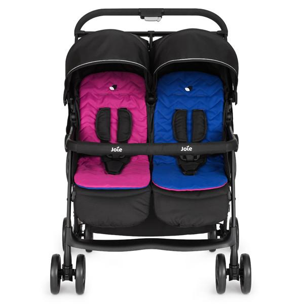 Stroller - Joie Aire Twin Rosy & Sea