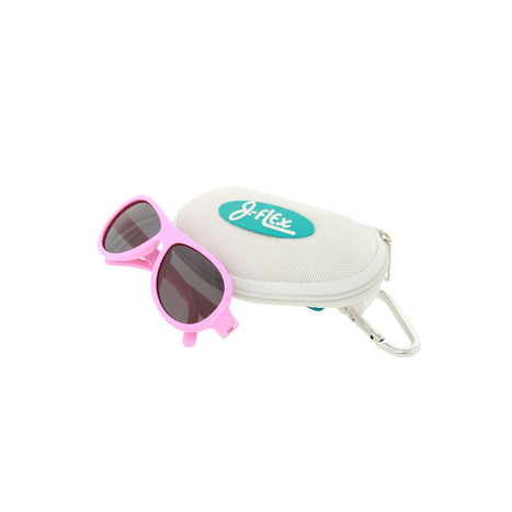Sunglasses - J-Flex Ultra Flexible Kids Polarized Sunglasses (Princess Hearts Pink)