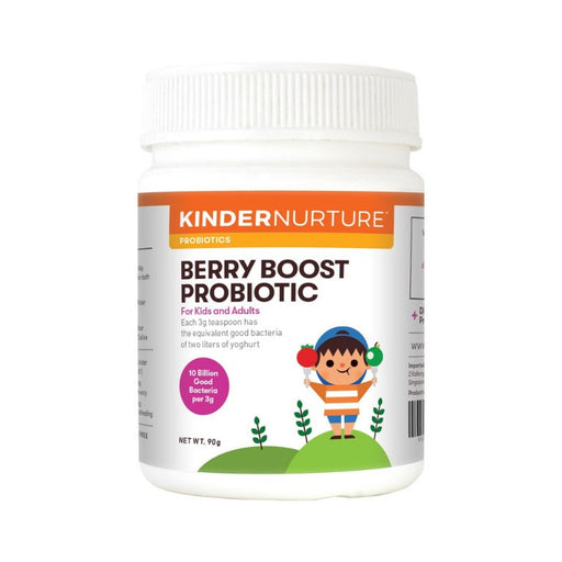 Supplements - Kindernurture Berry Boost Probiotic Powder 90 G.