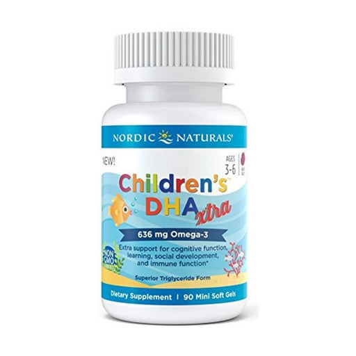 Supplements - Nordic Naturals Children's DHA™ Xtra, 90 Softgels