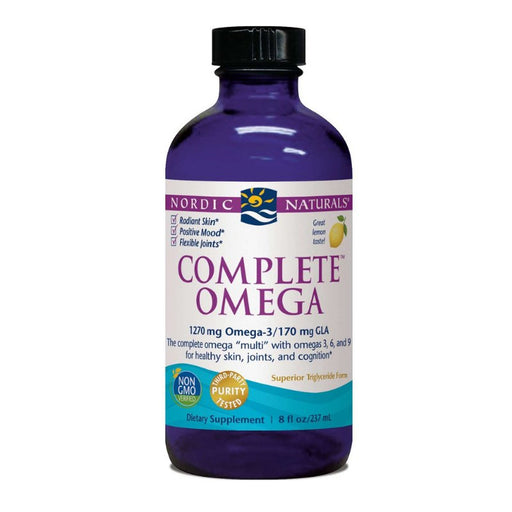 Supplements - Nordic Naturals Complete Omega Liquid - Lemon, 237 Ml.