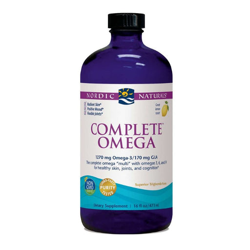 Supplements - Nordic Naturals Complete Omega Liquid - Lemon, 473 Ml.