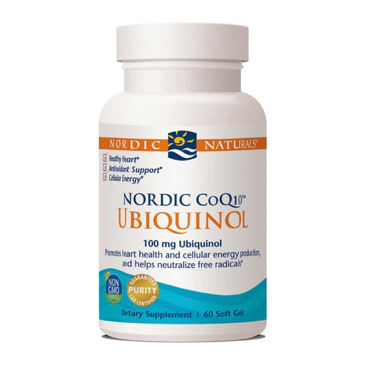 Supplements - Nordic Naturals CoQ10 Ubiquinol, 60 Sgls.