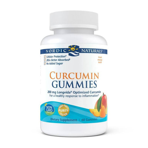 Supplements - Nordic Naturals Curcumin Gummies, 60 Gummies