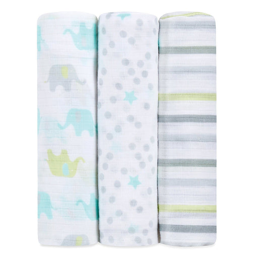 Swaddle - Ideal Baby By The Makers Of Aden + Anais Swaddles 3 Pack - Dreamy