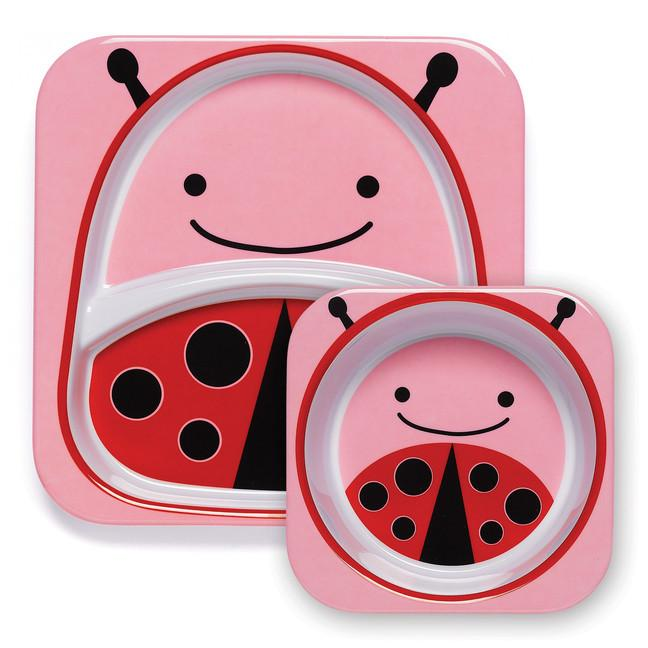 Tableware - Skip Hop Zoo Tableware - Melamine Set - Ladybug