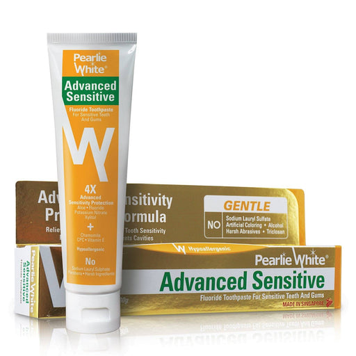 Toothpaste - Advanced Sensitive | Hypoallergenic Fluoride Toothpaste 130gm