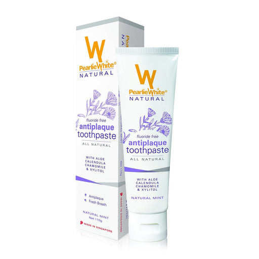 Toothpaste - All Natural Antiplaque Toothpaste 110gm