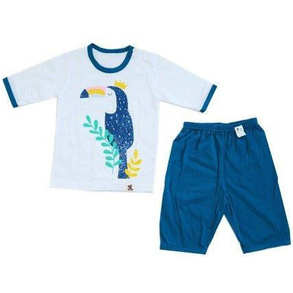 Puco Jacquard Pyjamas Set - Toucan