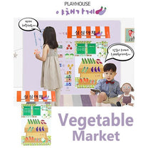 Momsboard Magnetic PlayHouse – Vegetable Market