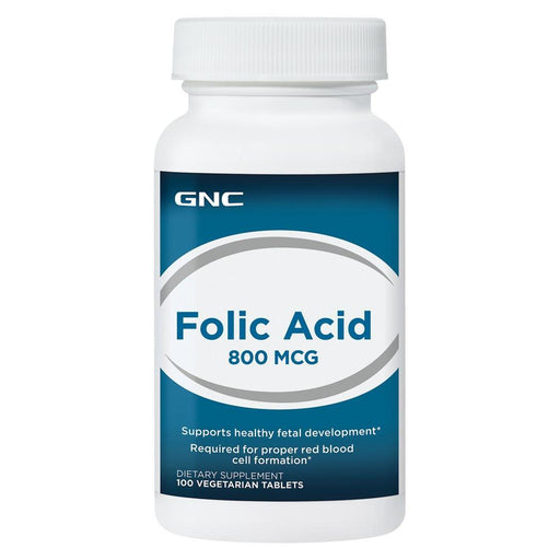 Vitamins - GNC Folic Acid 800mcg