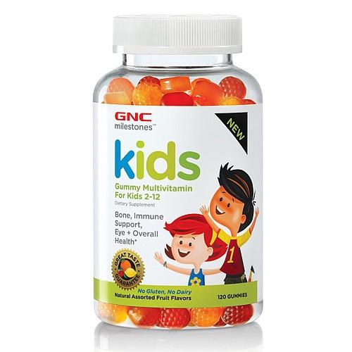 Vitamins - GNC Milestones™ Kids Gummy Multivitamin (120 Gummies)