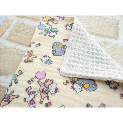 Wash Cloth - Jingle Baby Wipe Cloth Set Of 4 - Japanese Double Gauze Soft Muslin Hello Kitty
