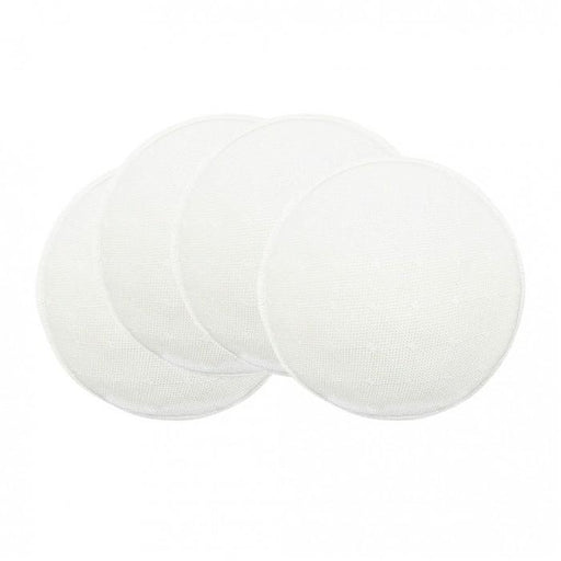 Washable Breast Pads - Lunavie Washable Breast Pads (4Pcs) - White