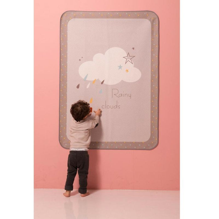 Waterproof Pad - LOLBaby Waterproof Mat - Rainy Cloud