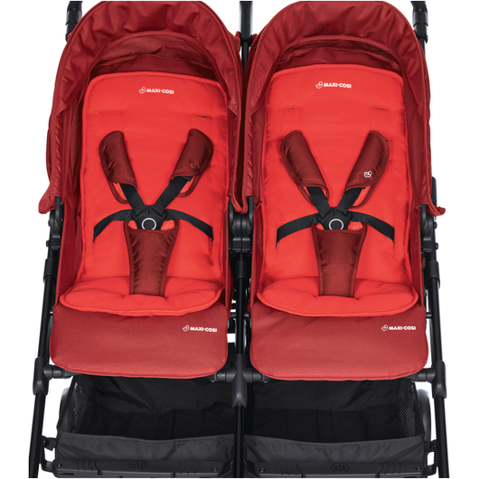 Maxi-Cosi DANA for 2 Stroller - Vivid Red (0m-3.5y) (0-15kg)