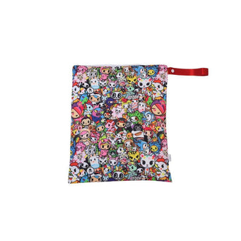 Wet Bag - Itzy Ritzy TRAVEL HAPPENS™ LARGE SEALED WET BAG WITH HANDLE - TOKIDOKI COLLECTION