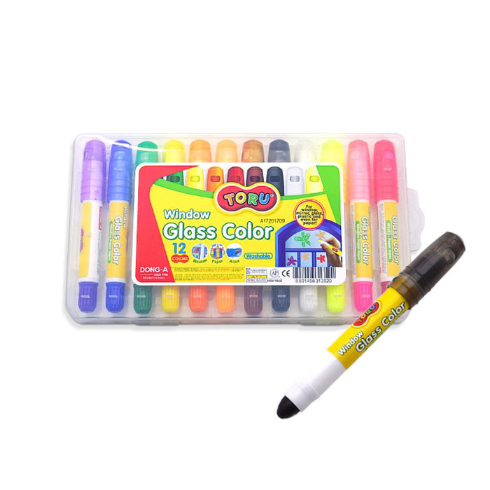 Whiteboard Marker - Noriterboard Crayon For Whiteboard - 12 Colors
