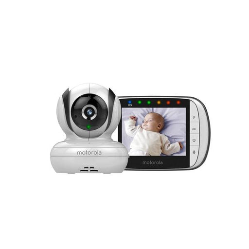 Wifi Camera - Motorola Digital Video Baby Monitor White MBP36S