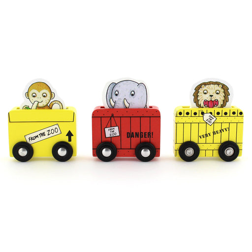 Wooden Toy - Dear Zoo Wooden Vehicles (set Of 3)