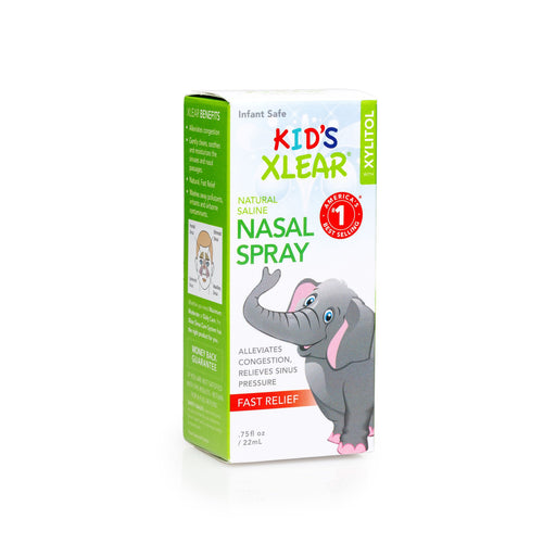 Xlear Kid's Xlear Natural Saline Nasal Spray - Xlear Kid's Xlear Natural Saline Nasal Spray - 22ml / 0.75 Fl Oz