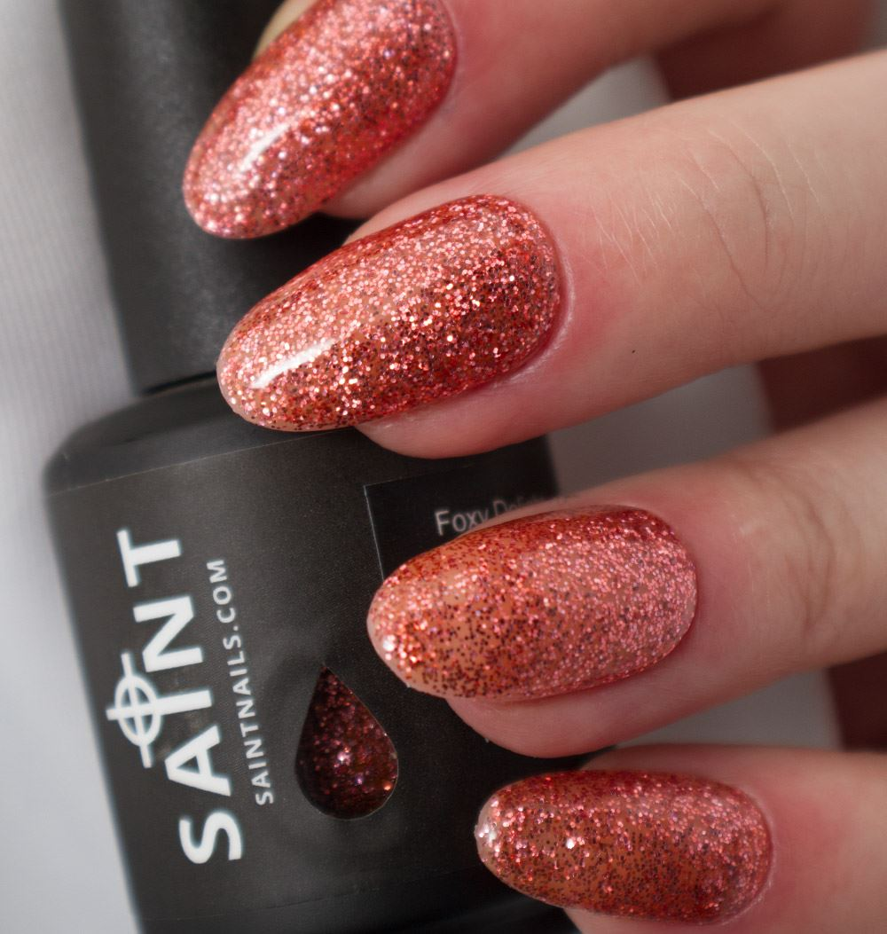 Foxy Delight Gel Nail Polish from Saintnails.com