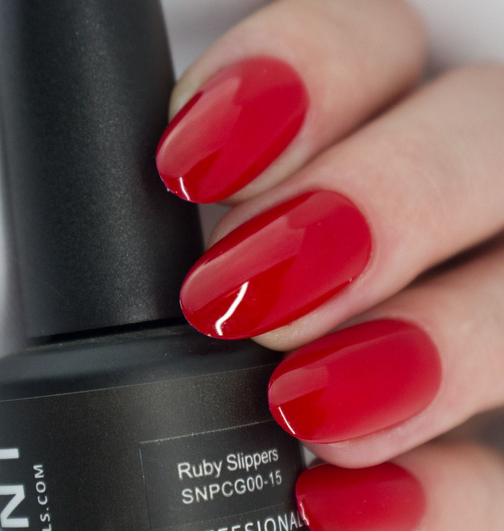 Ruby Slippers Gel Nail Polish from Saintnails.com