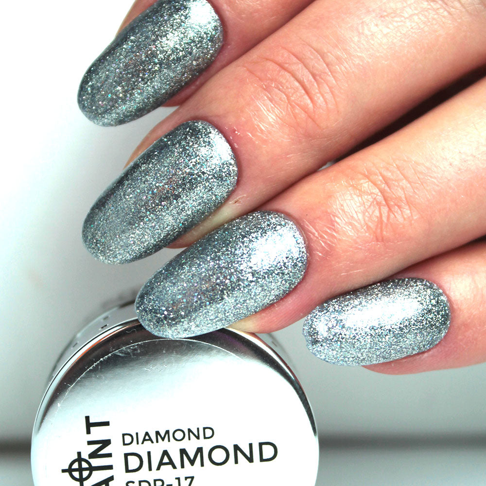 Diamond Diamond Gel Nail Polish from Saintnails.com