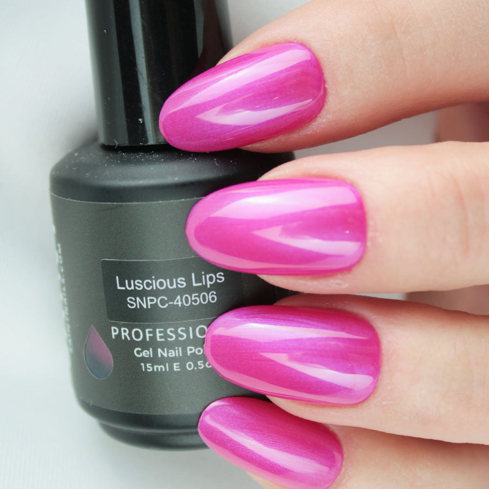 Luscious Lips Gel Nail Polish from Saintnails.com