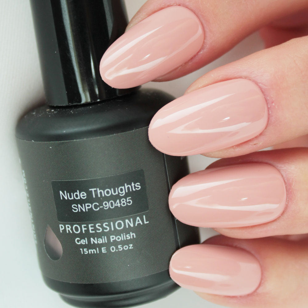 Nude Thoughts Gel Nail Polish from Saintnails.com