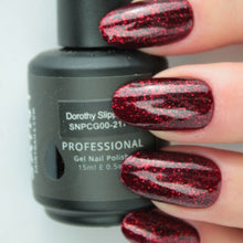 Load image into Gallery viewer, Dorothy Slippers Gel Nail Polish from Saintnails.com