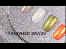 Load and play video in Gallery viewer, Tarnished Brass