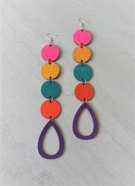 Island Girl Drop Earrings