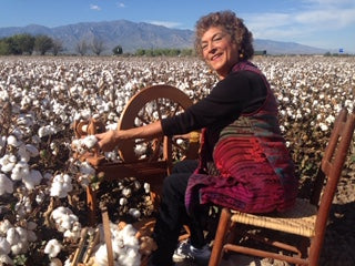 Why I love to Spin Cotton by Irene Schmoller