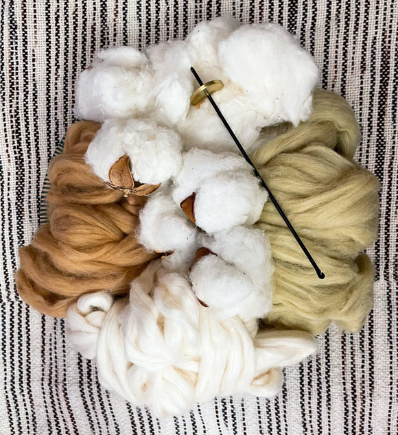 All About Cotton Spinning Kit