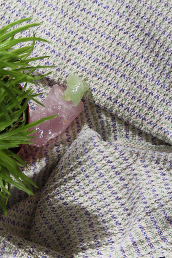 Rigid Heddle Lavender Fields Towel Pattern