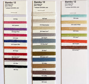 Bambu 12 Color Card