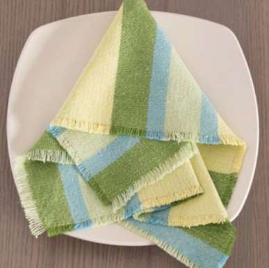 Four-Sided Fringe Napkins