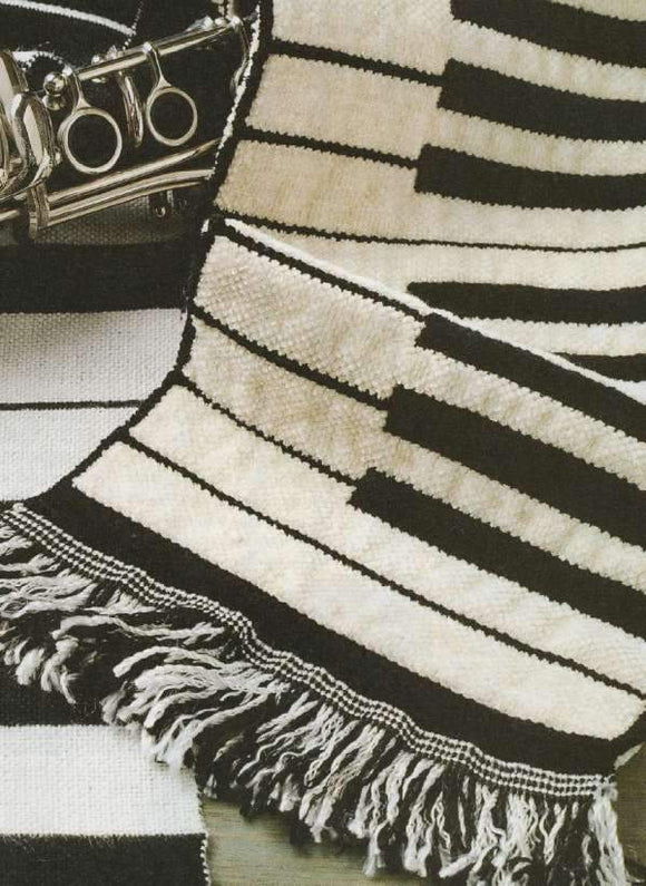 Piano Keyboard Scarf (8-shaft)