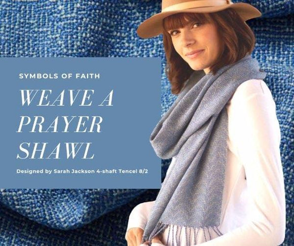 Prayer Shawl in Tencel 8/2