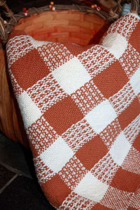 Rigid Heddle Pumpkin Pie Towels