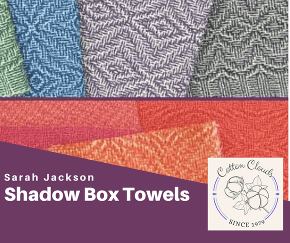 Shadow Box Towels by Sarah Jackson