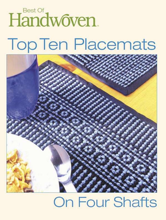 Best of Handwoven - Top Placemats & Runners on 4-Shaft Club $49.95/month